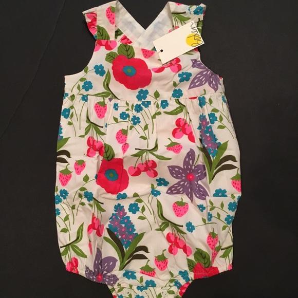 7608264c60 Mini Boden Floral Romper